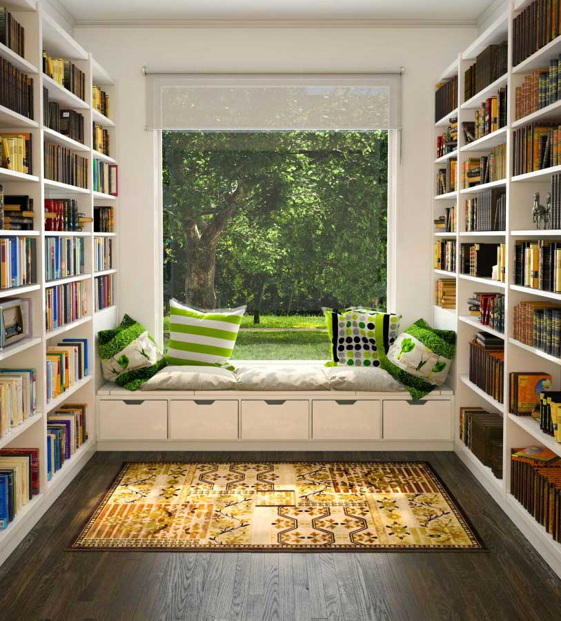 Reading Room Design Ideas At Home For Book Lovers